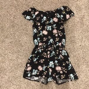 Floral Romper: From Justice